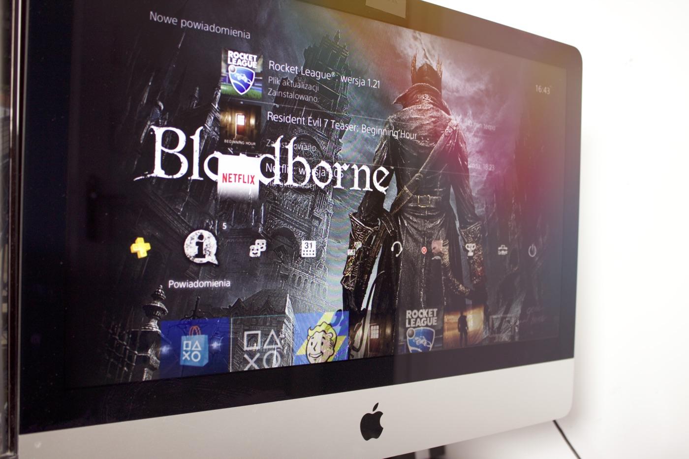 PS4 na iMacu