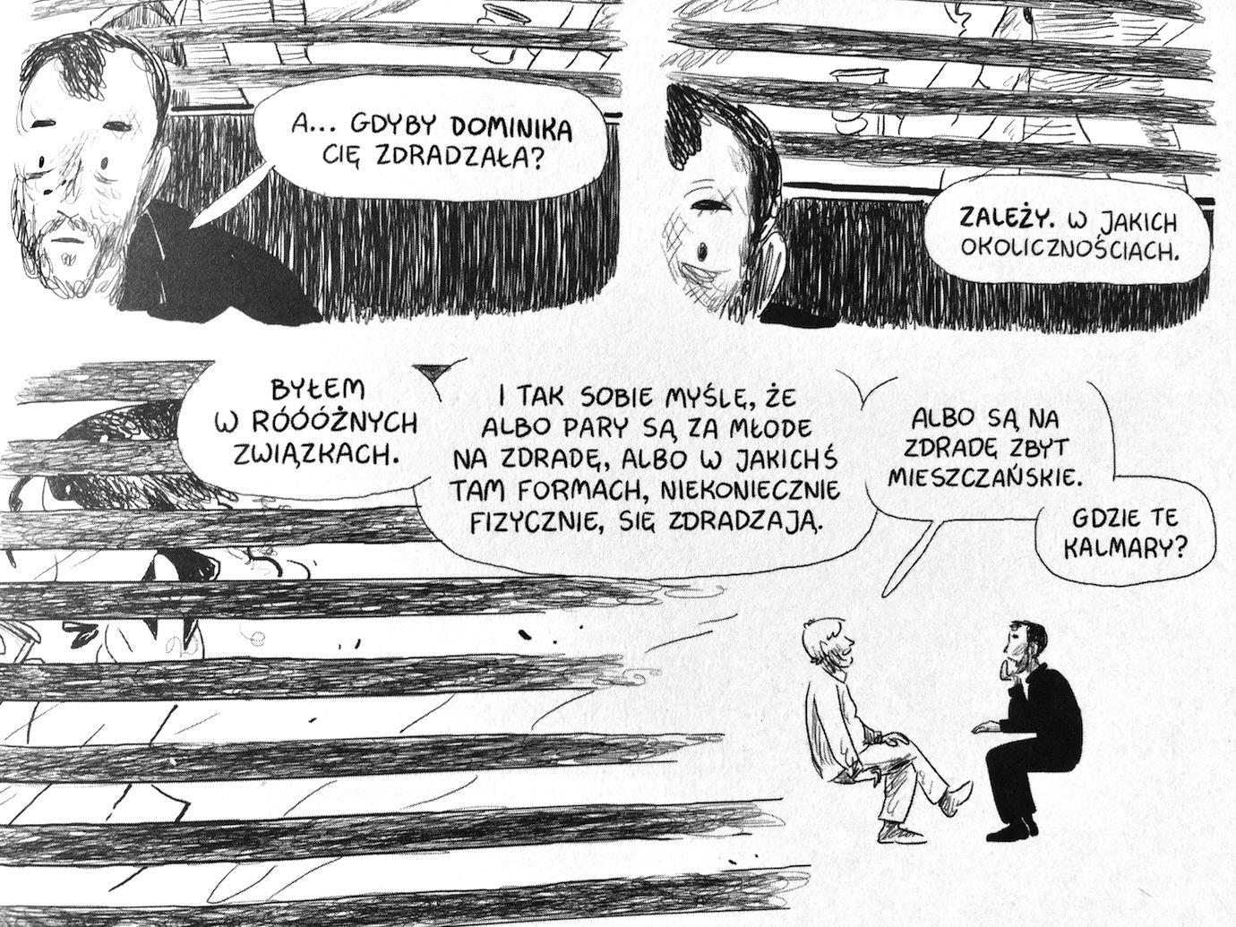 Komiks Podgląd - cytat