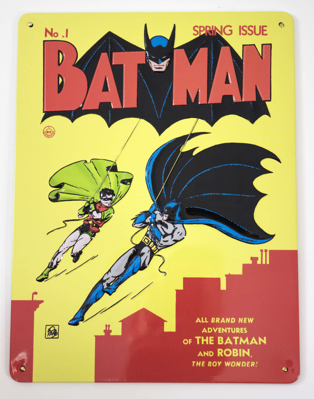Batman plakietka WKKDC