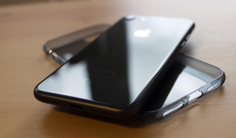 iPhone 8 szklany tył telefonu